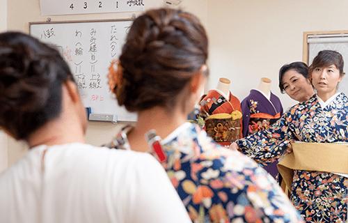 栗田京子きもの教室